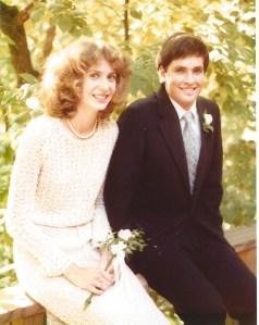 Peter Cathy Wedding 1980 1